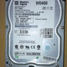 HDD PC Western Digital WD400 40Gb IDE - Hard Disk Western Digital, Sub 40 GB