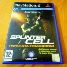 Joc Tom clancy's Splinter Cell Pandora Tomorrow, PS2, original, 14.99 lei! - Jocuri PS2 Ubisoft, Actiune, 12+, Single player