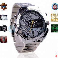 Gadget supraveghere - Ceas spion cu Camera Ascunsa FullHD 1080P, 12MP, 16GB, 6 Modele, Night Vision IR
