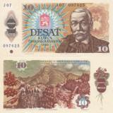 Bancnota Straine, Europa, An: 1986 - CEHOSLOVACIA 10 korun 1986 UNC!!!