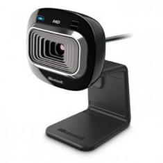Camera Web Microsoft HD 3000, 720p cu microfon - Webcam Microsoft, 1.3 Mpx- 2.4 Mpx