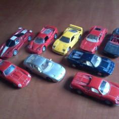 Set machete Ferrari - Macheta auto Maisto, 1:43