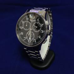 Ceas Barbatesc Longines, Elegant, Quartz, Inox, Inox, Cronograf - Ceas Longines L2 649 4 (0019*)