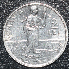 Monede Romania - (1250) ROMANIA 2 LEI 1914 REGELE CAROL I - MONEDA ARGINT - TESETOAREA !!! - IEFTIN !!!