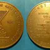 Medalii Romania - Romania Conferinta nationala de metalurgie pulberilor Cluj-Napoca