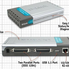 Printserver Dlink DP-300-plus