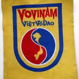 ROMANIA ECUSON VOVINAM VIET‐VO‐DAO ARTE MARTIALE VIETNAMEZE 80 x 60 mm **