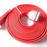 Cablu rosu 3M pentru incarcare Iphone/IPad