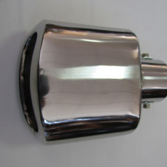 Toba finala auto, Universal - Ornament toba inox H1002