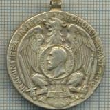 Medalii Romania - ATAM2001 MEDALIE 712 - IN AMINTIREA INALTATORULUI AVANT 1913 - DIN CARPATI PESTE DUNARE LA BALCANI-starea care se vede