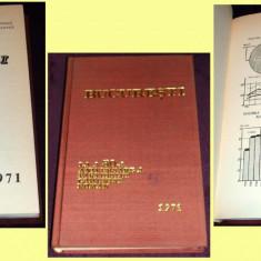 Carte Epoca de aur - Bucuresti la a 50-a aniversare a PCR, album jubiliar de date statistice, propaganda comunista, Institutul de Statistica in Epoca de Aur