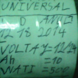USCATOR UNIVERSAL 12VOLTI NR1