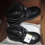 Bocanci/pantofi/ghete de protectie Delta Plus Jumper 2 Piele - Bocanci barbati, Marime: 40, Culoare: Negru, Piele naturala