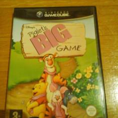 JOC GAMECUBE DISNEY's PIGLET's BIG GAME ORIGINAL / STOC REAL in Bucuresti / by DARK WADDER Altele, Actiune, 3+, Single player