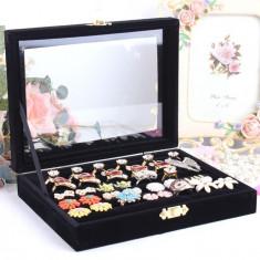 Cutie Bijuterii - Caseta inele bijuterii cutie inele cutie prezentare inele