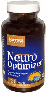 Neuro Optimizer, Jarrow, 120 capsule. Buna functionare a creierului si memoriei, refacere functii cerebrale, sechele AVC, traumatism cerebral, autism foto