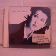 Vand cd Celine Dion-Deux original - Muzica Pop sony music