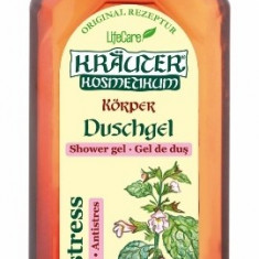 Remediu din plante - Gel de dus antistres, cu roinita BIO Krauter