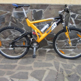 Vand Scott Full Suspension - Mountain Bike Scott, 18 inch, 26 inch, Numar viteze: 24, Aluminiu, MTB Full Suspension