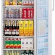 Vitrina frigorifica pentru bauturi; Dulap frigorific usa vitrata, 300-400 l