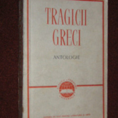 Tragicii Greci - Antologie - Carte Antologie