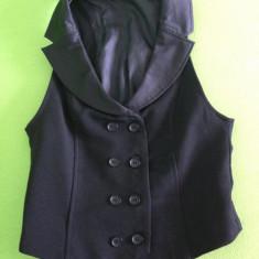 Vesta eleganta ZARA - Vesta dama Zara, Marime: S, Culoare: Negru, Negru