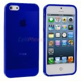 HUSA iPHONE 5C - BLUE - Husa Telefon Apple