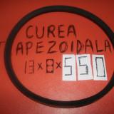 Curea distributie, Universal - CUREA TRAPEZOIDALA 13X8X550, MASINA, UTILAJ, MOTOR, APARAT, BETONIERA