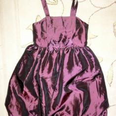 Haine Copii 10 - 12 ani - Rochie de gala mov vanata, marca Pearce Fionda, fete 11 ani