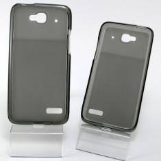 Husa ORANGE Hiro Alcatel One Touch Idol Mini OT-6012 OT-6012D TPU Black, Negru, Gel TPU, Carcasa, Fara snur