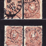 Timbre GERMANIA REICH 1880 // MI.43  - VULTUR IMPERIAL - 25 Pfennig