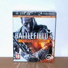 Joc Playstation PS3 - Battlefield 4 Deluxe Edition, de colectie, nou, sigilat - Battlefield 4 PS3 Ea Games