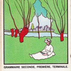CODE DU FRANCAIS COURANT - GRAMMAIRE SECONDE, PREMIERE, TERMINALE de H. BONNARD - Curs Limba Franceza