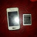 Telefon Samsung, Alb, <1GB, Neblocat, Single core, 512 MB - SAMSUNG WAVE Y 5380D defect