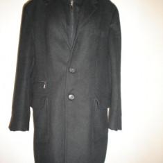 Palton barbati, L - Palton Enrico Coveri, modern, slim, 100% original