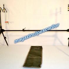 Rod pod Pescuit - Rod Pod FL Cu 3 Posturi 3 Swingere Si Husa Transport Inclusa