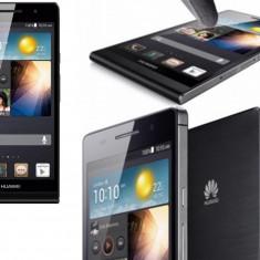 Telefon mobil Huawei Ascend P6, Negru, 8GB, Neblocat, Single SIM - Huawei Ascend P6, Black