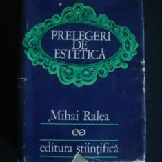 MIHAI RALEA - PRELEGERI DE ESTETICA {1972}
