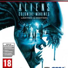Jocuri PS3 Sega, Actiune, 18+, Single player - Aliens: Colonial Marines - Limited Edition - Joc ORIGINAL - PS3 - NOU si SIGILAT