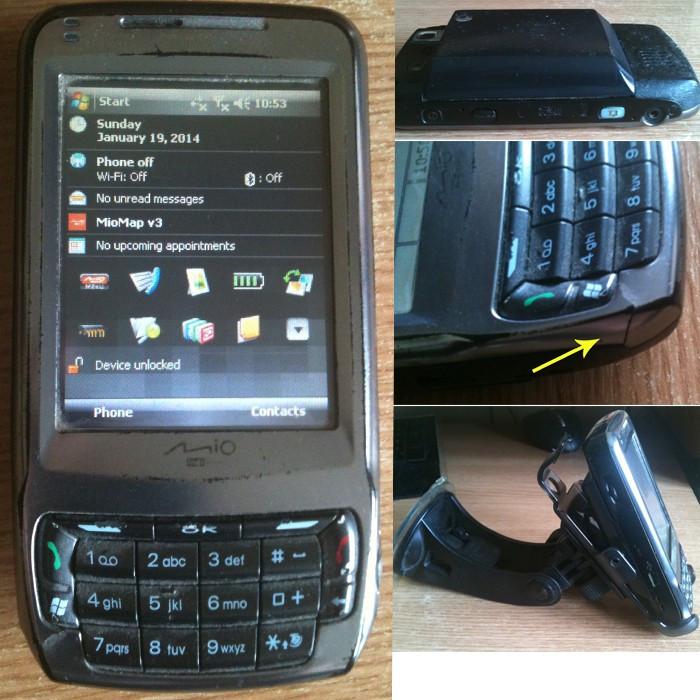 Vezi detalii. PDA MIO A702.