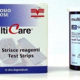 MULTICARE - TESTE DE GLICEMIE, 25buc/cutie - Glucometru