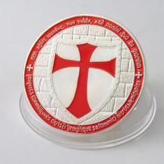 Medalie Ordin Cavaleri Templieri Freemason Masonice Masonerie Bullion Bar, Europa