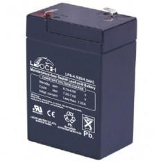 Masinuta electrica copii, Unisex, Gri - ACUMULATOR 6 VOLTI SI 4, 5 AMPERI, PENTRU MASINILE ELECTRICE SAU MOTOCICLETE PT.COPIII.