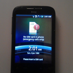Telefon mobil HTC Wildfire, Negru, Neblocat - Vand HTC Wildfire stare f buna