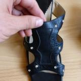 Sandale dama - Sandale Coccinella din piele naturala; 25.5 cm lungime talpic interior