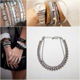 Bratara Lant Argintiu - Bratara Fashion