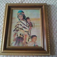 Tablou pictat panza - Tablou pictori romani, Portrete, Altul
