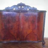 Mobilier lemn nuc si abanos (3 piese set)