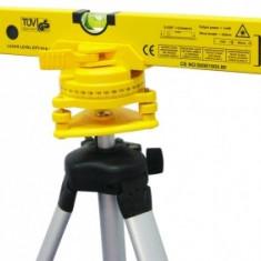NIVELA LASER CU SUPORT PLASTIC SI TREPIED 400MM - Nivela laser rotativa