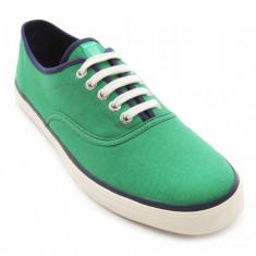 Adidasi Gant Regis originali - adidasi panza - tenisi barbati - in cutie - 44, Culoare: Verde, Textil